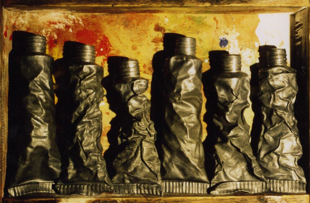 Oils   Modern Abstract Sculpture   Metal Sculpture by Russell West