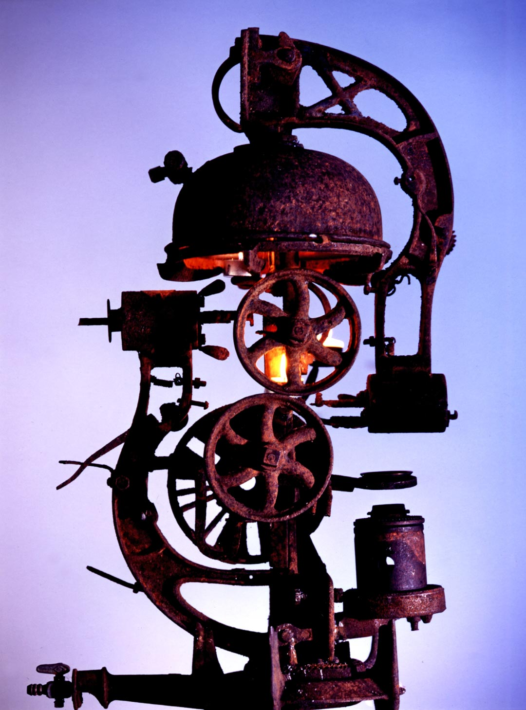 Industrial Composition | Rusty Metal Sculpture By Russell West