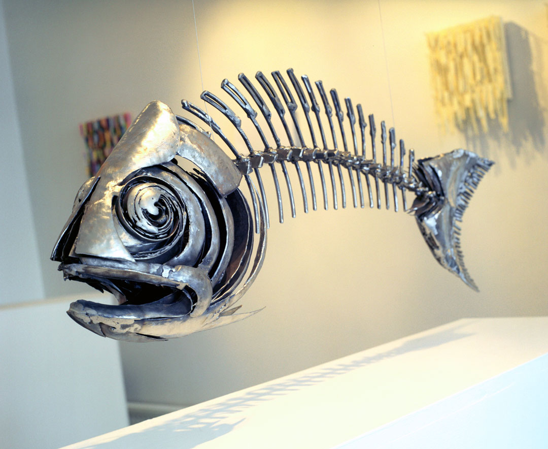 Fish XVII | Fish Wall Art | Metal Sculpture By Russell West
