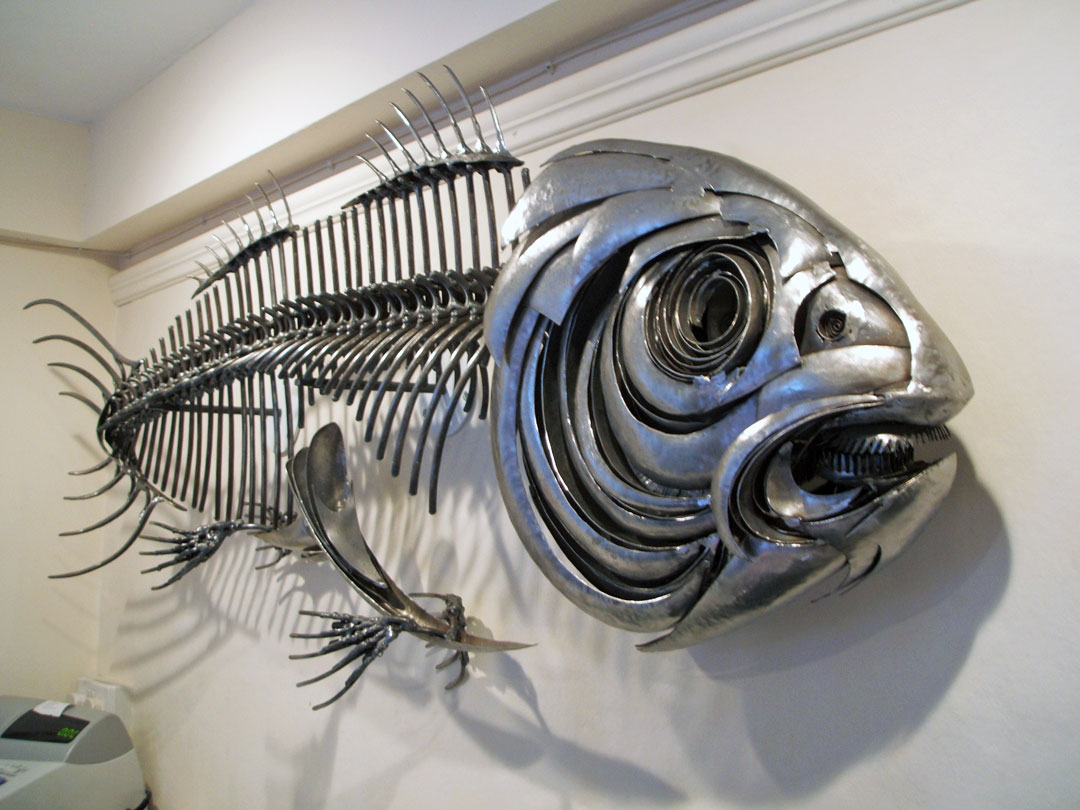 Fish XXI   Fish Wall Art   Metal Sculpture by Russell West