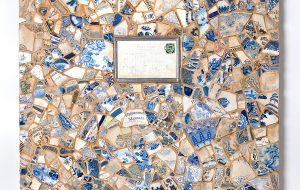 Margate Beach | Mosaic 3D Art (Broken Victorian Crockery From Margate Beach) | Victorian Wall Art | Russell West