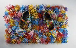 Golden Years- Positive Artwork | Russell West 3D Wall Art Sculptures