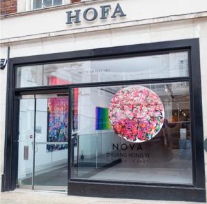 HOFA Gallery Showcases Russell West's Art Works